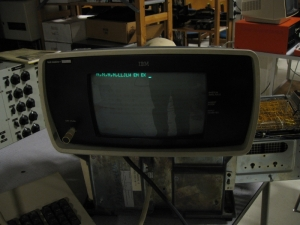 Restored IBM 3277 Display terminal (Photo credit: IBM System 3 Blog)