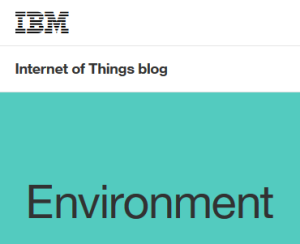IBM IoT Environment blog