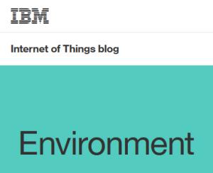 IBM IoT Environment blog