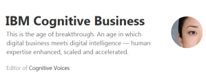 IBM Cognitive Business Medium blog